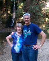 Phil and Melissa at Ferndale Falls